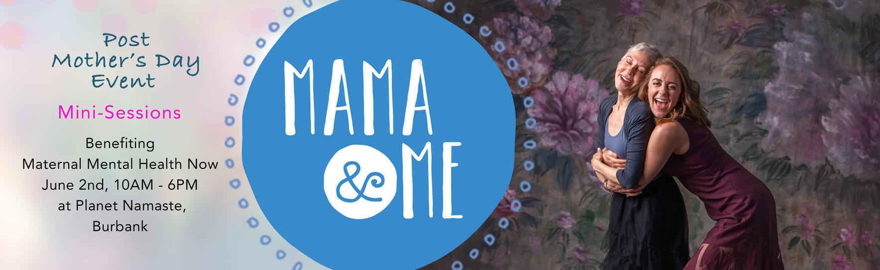 Donate $150 for a 20-minute Mama & Me mini-photo session image