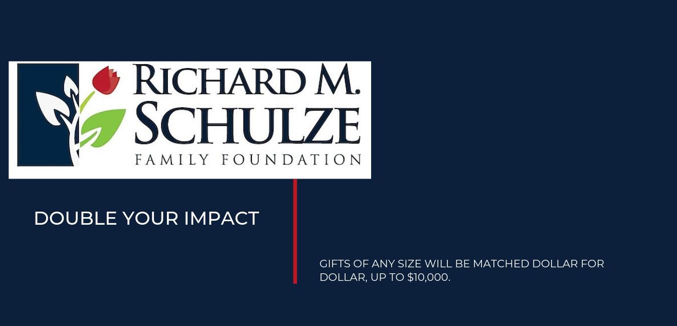 Richard M. Schulze Matching Gift  image