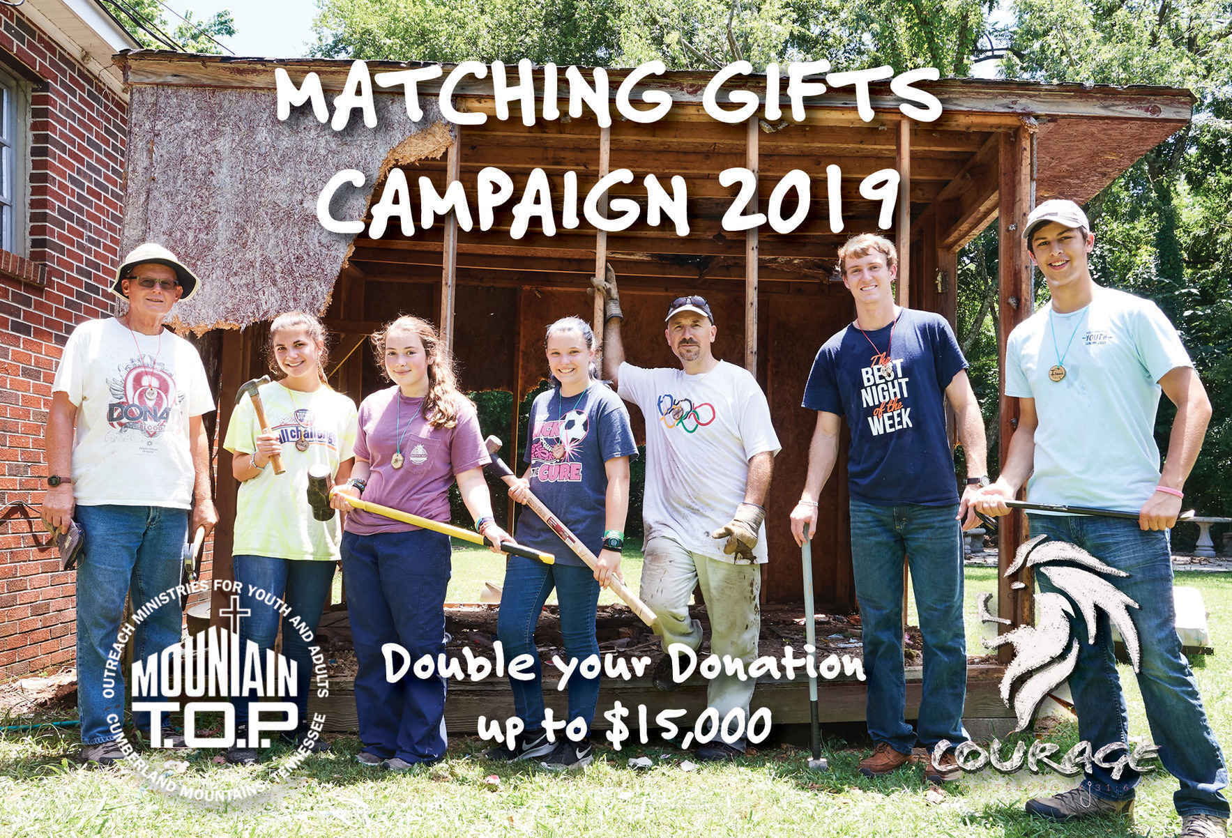 It's Mountain T.O.P's 4th Annual Matching Gifts Campaign! UPDATED image