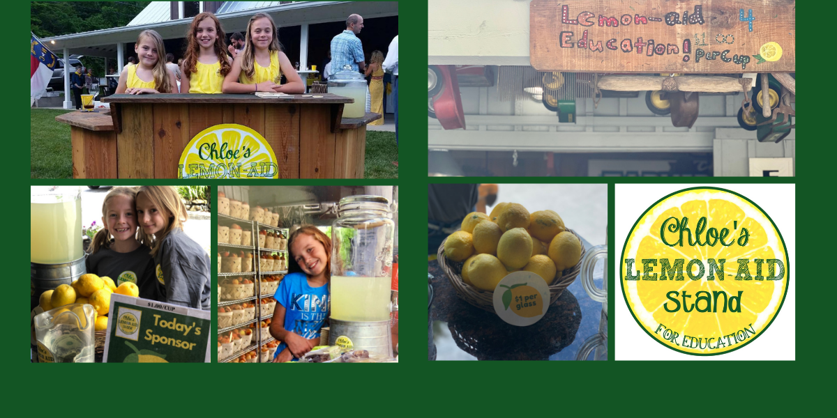 Chloe's Lemon-aid Stand for Summit Charter School image