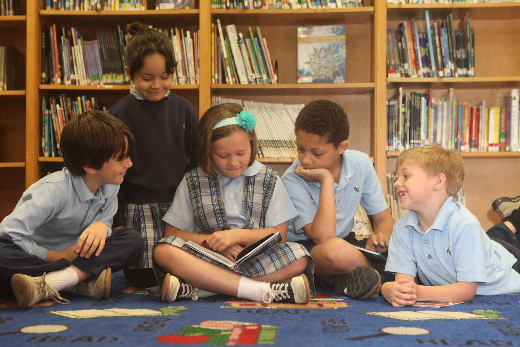 Make a difference in the life of a Holy Rosary Student!  image