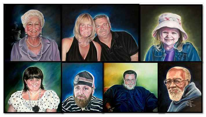 Make a Donation, Give the Gift of a Portrait to the Bereaved. image