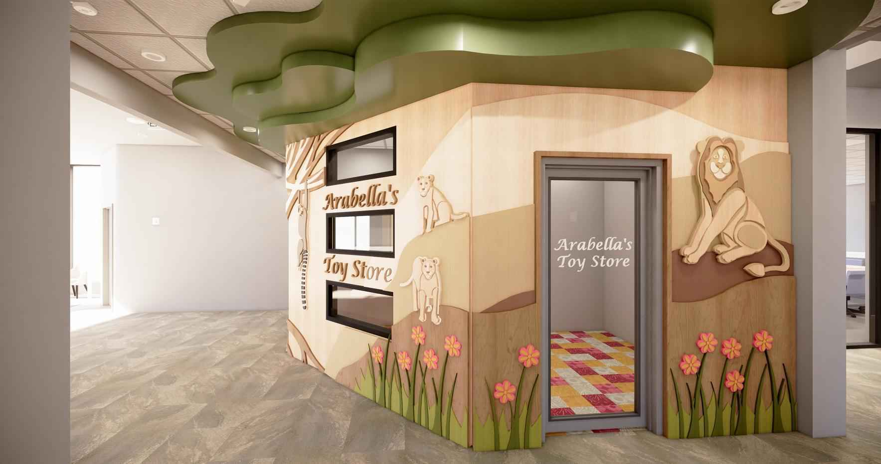 Help us build Arabella's Toy Store at Ronald McDonald House image