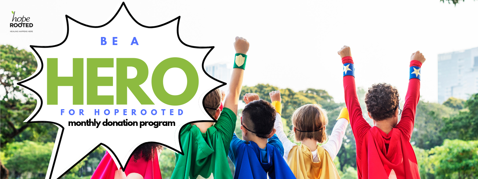 Be a HERO for children with Chronic Illness image