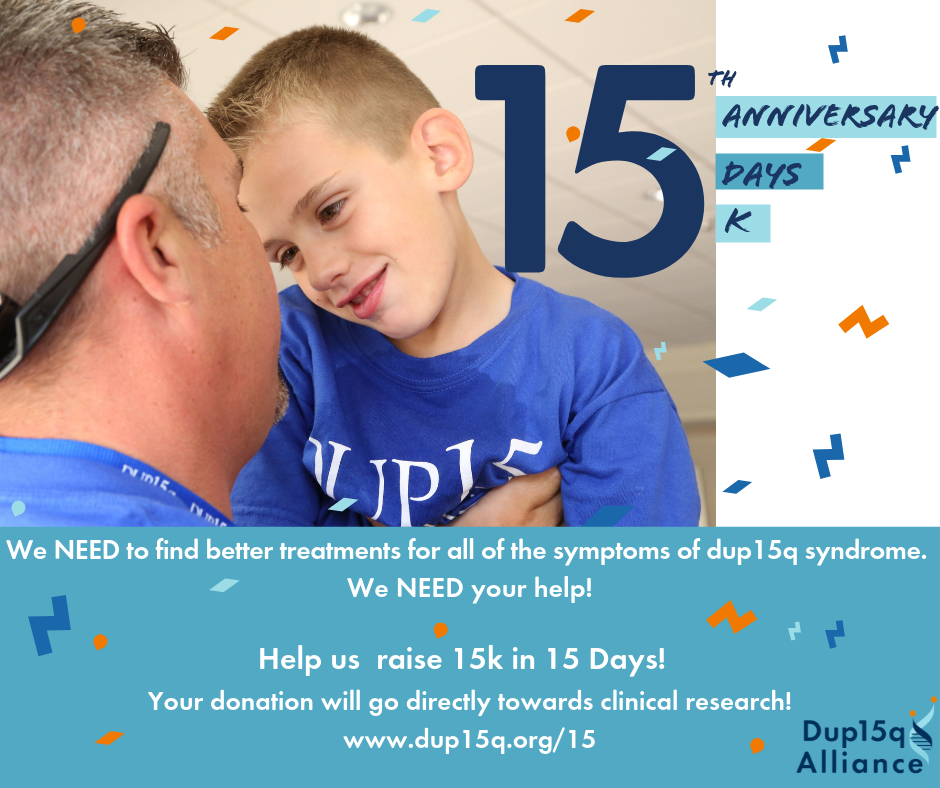 Help us celebrate our 15th anniversary as a  non-profit by joining us in raising 15k in 15 Days! image