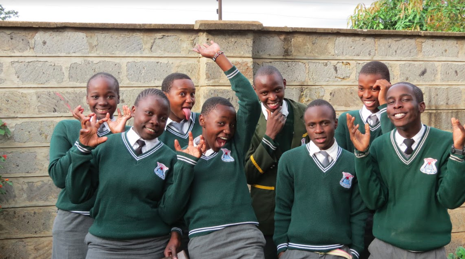 Sending students from Kibera slum to school to learn and grow as people image