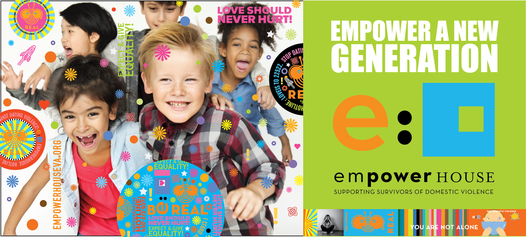 When you Empower a Child, you Empower a New Generation. image