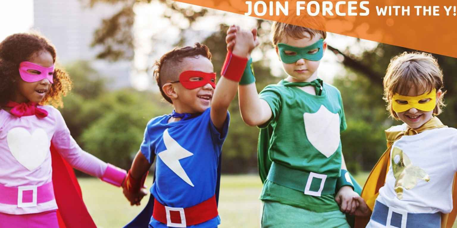 At the Y, we give everyone the opportunities they need to become the HERO's of today and tomorrow. image