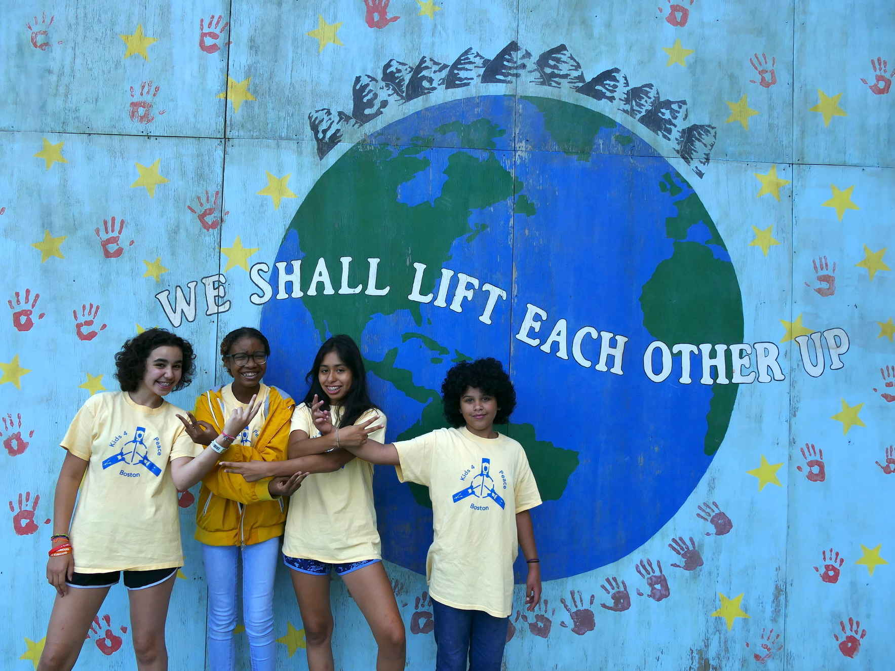 With Your Support, K4PB Teens  Will Lift Up Our World image