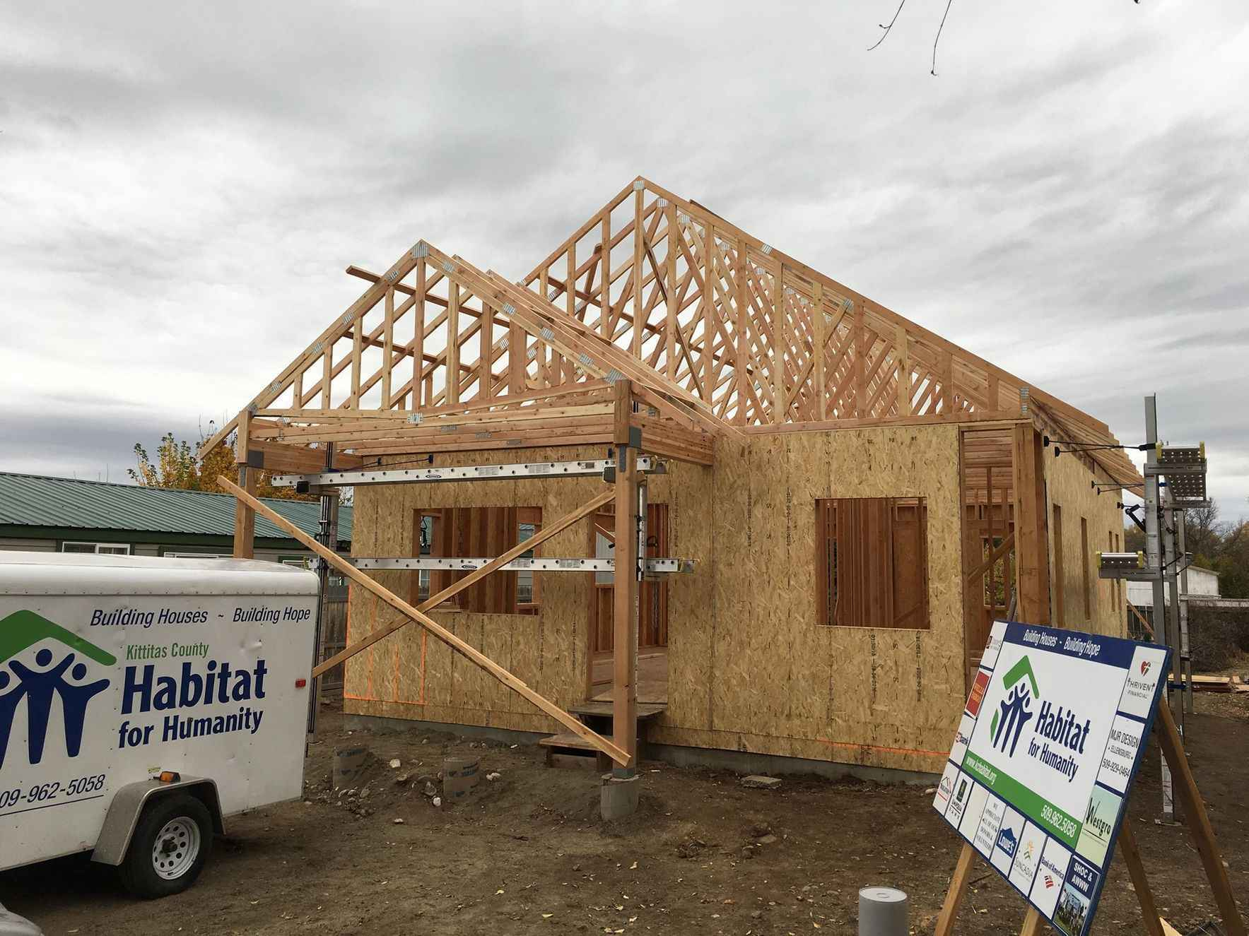 Make a difference in affordable housing for hard-working families in Kittitas County! image