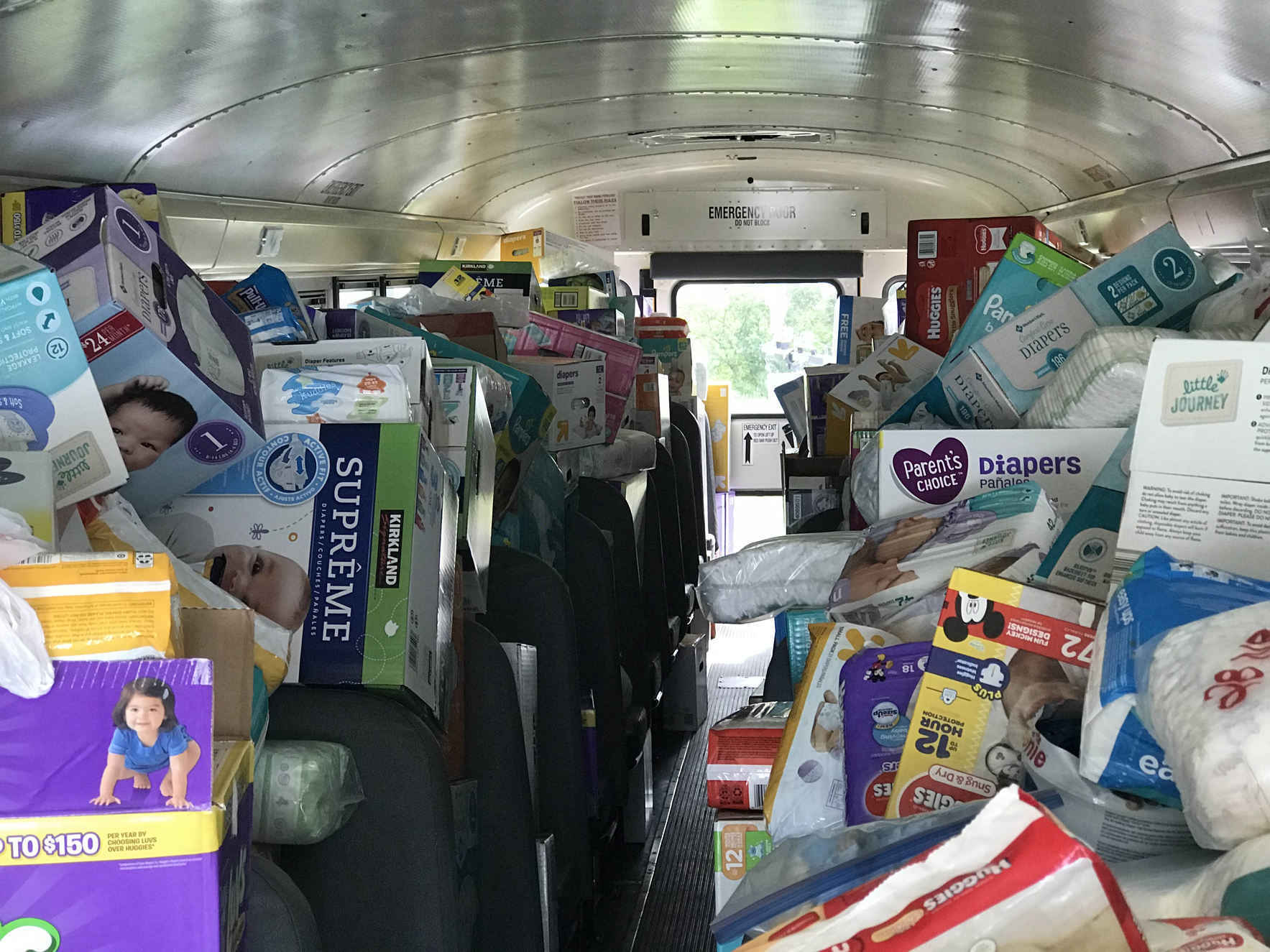 Help us Stuff the Bus with 300,000 diapers! image