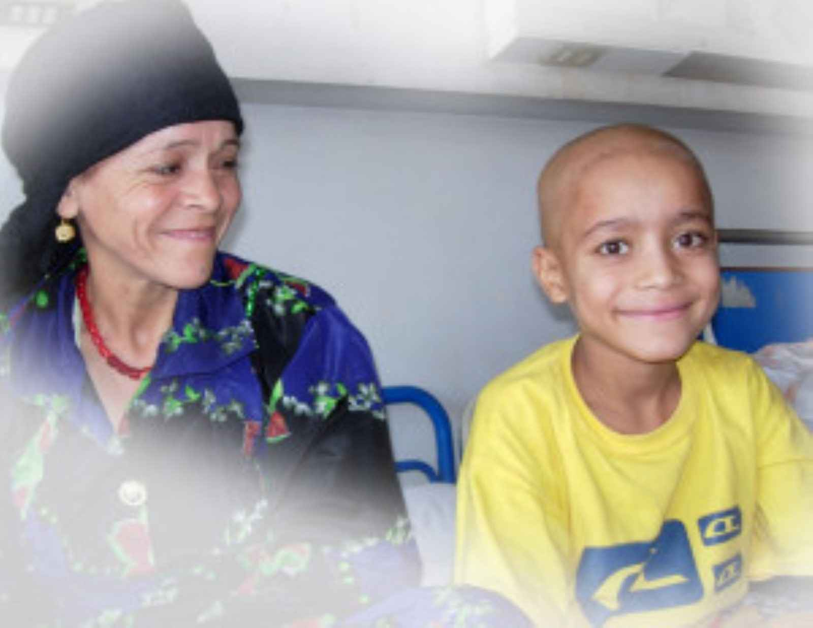 Help  Egyptian Children  with cancer get cured image