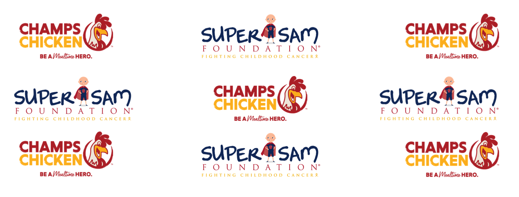Join Champs Chicken in supporting the Super Sam Foundation as they fight childhood cancer! image