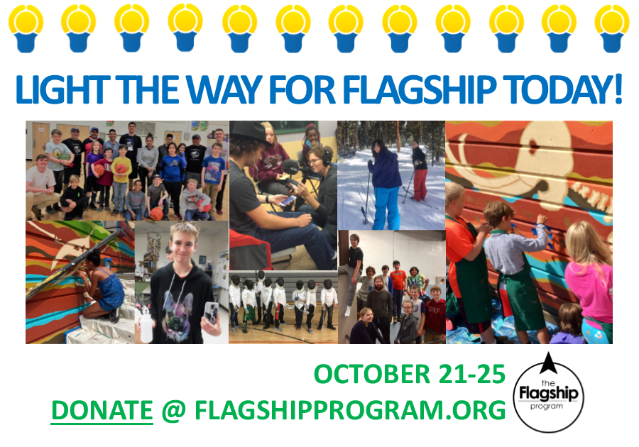 Light the Way for Flagship Today! image