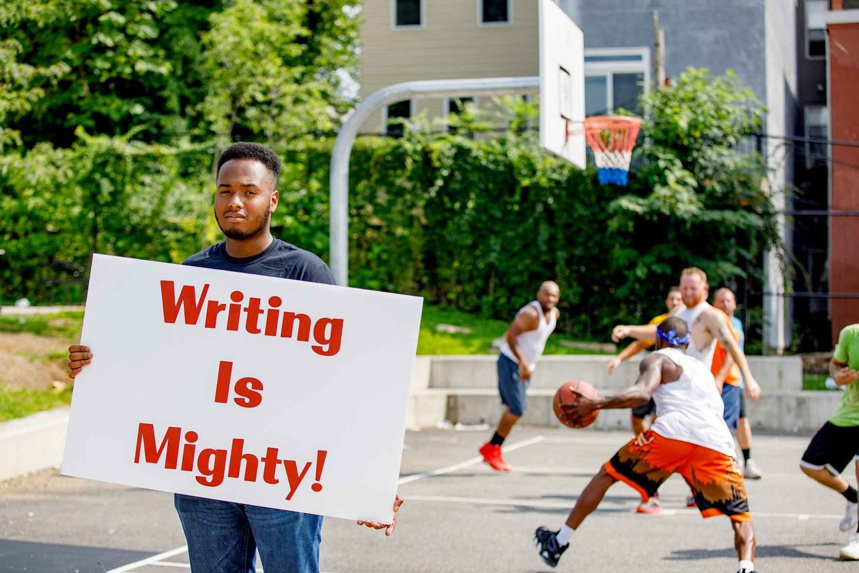 Be Mighty.  Support Mighty Writers. image