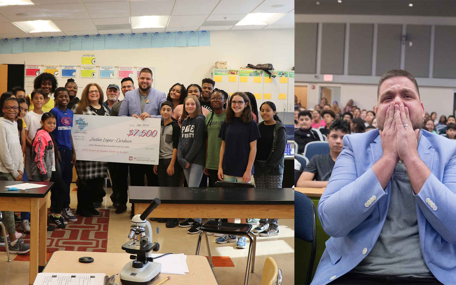 Match 2020 DC Teacher of the Year's $5,000 Scholarship Challenge! image