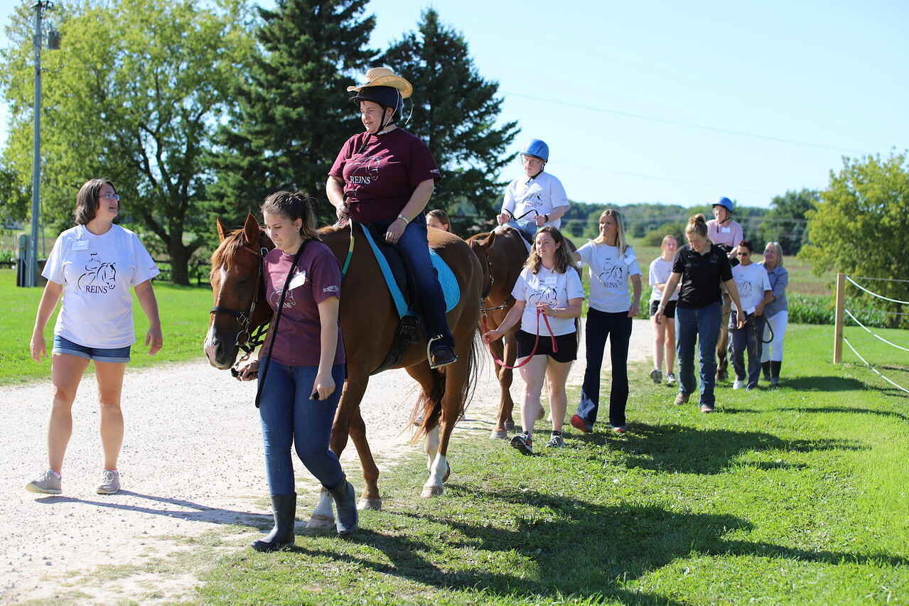 Give today to help build the FREEDOM RING Outdoor Riding Complex image