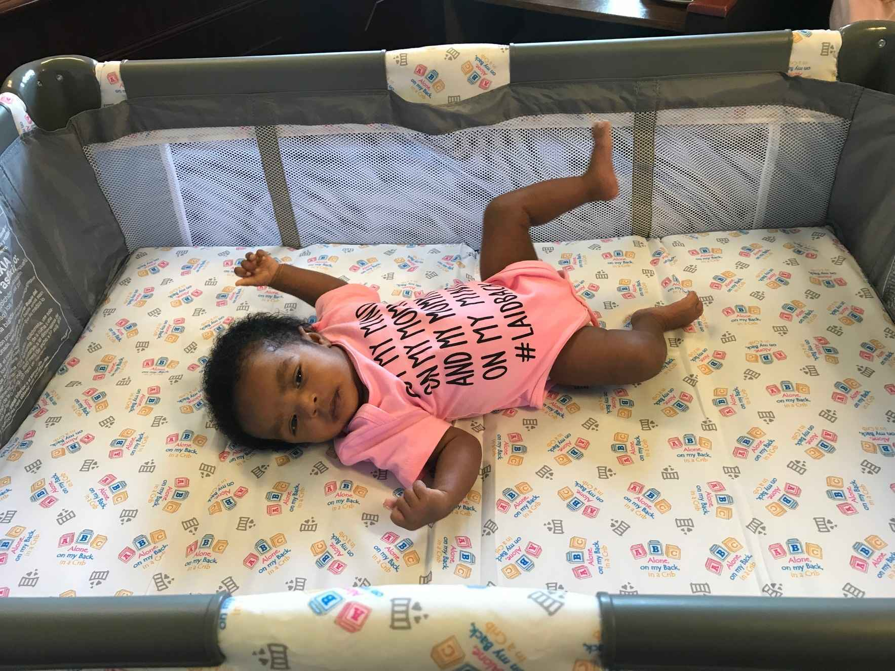 Donate today. YOU can help a baby in Hampton Roads sleep safely. image