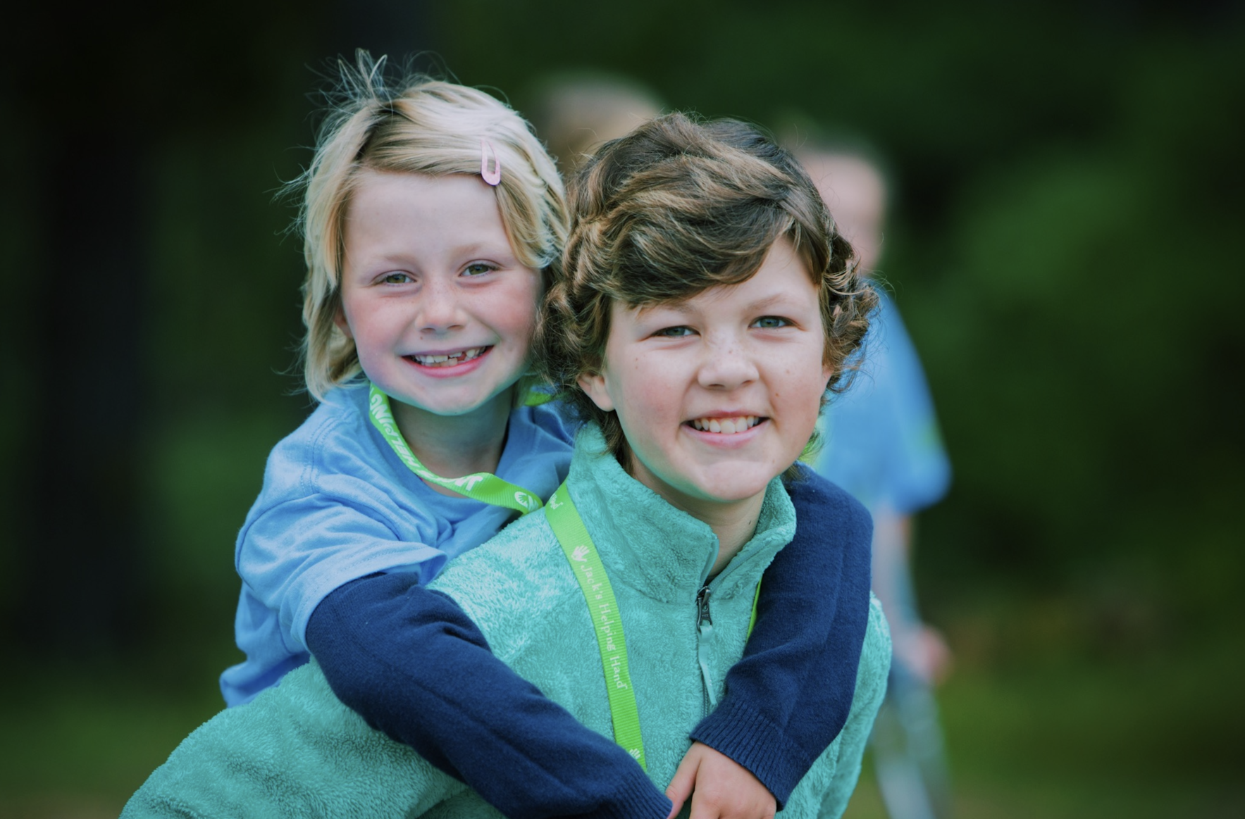 Donate today to help children like Claire and Holyn!  image