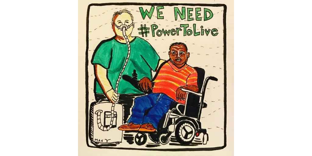 Disabled people need #PowerToLive! image