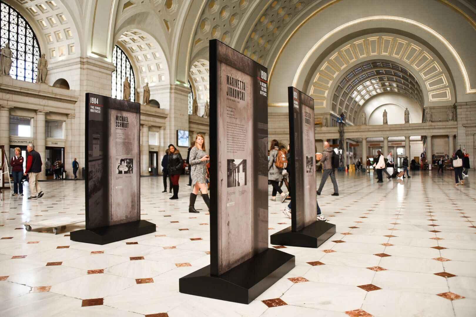 Sponsor VOC's Berlin Wall Exhibit at Union Station image