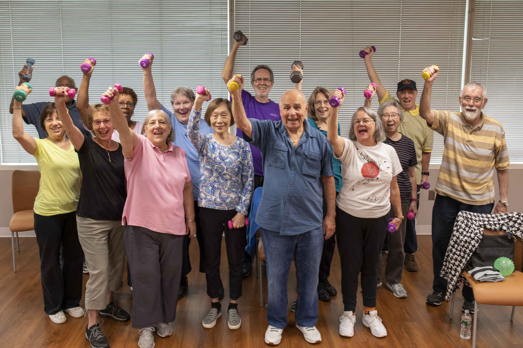 Give today and help seniors stay healthy and active in both mind and body!! image