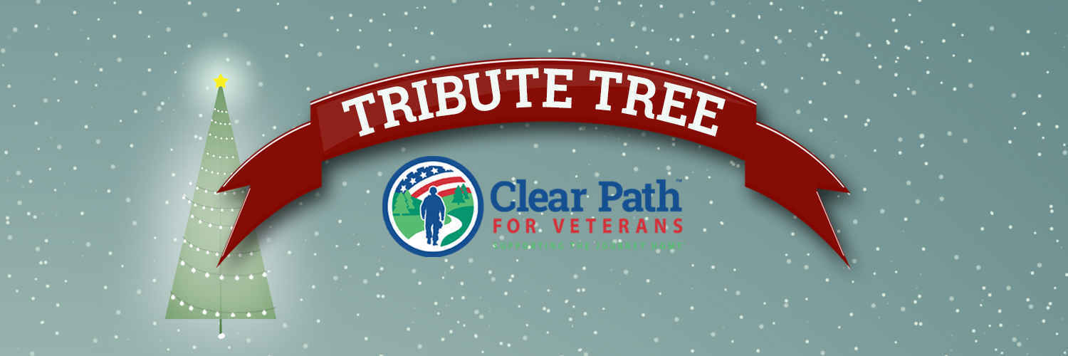 Let a light shine on the Tribute Tree.  image