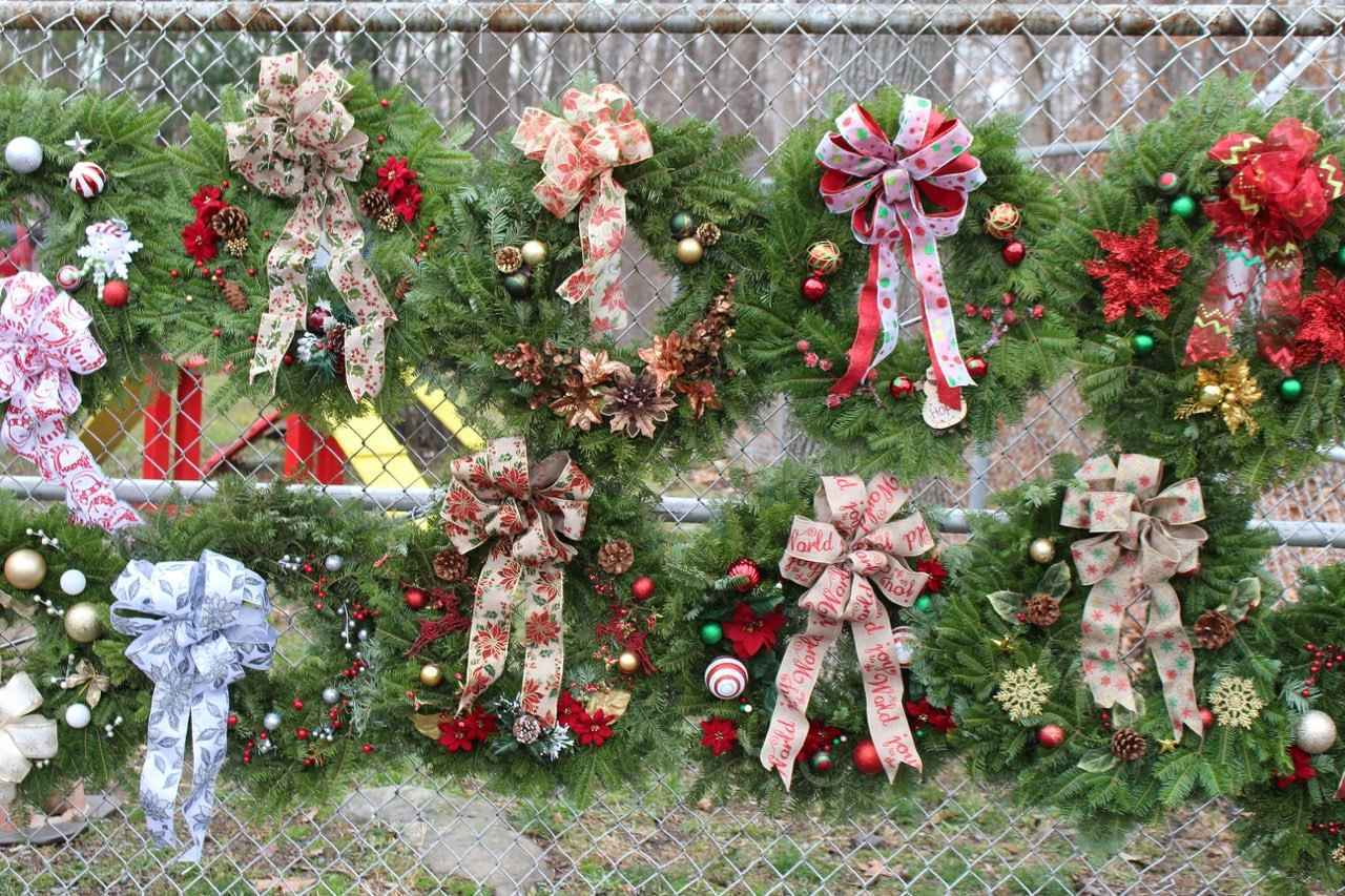 Purchase A Holiday Wreath To Save Homeless Animals' Lives image