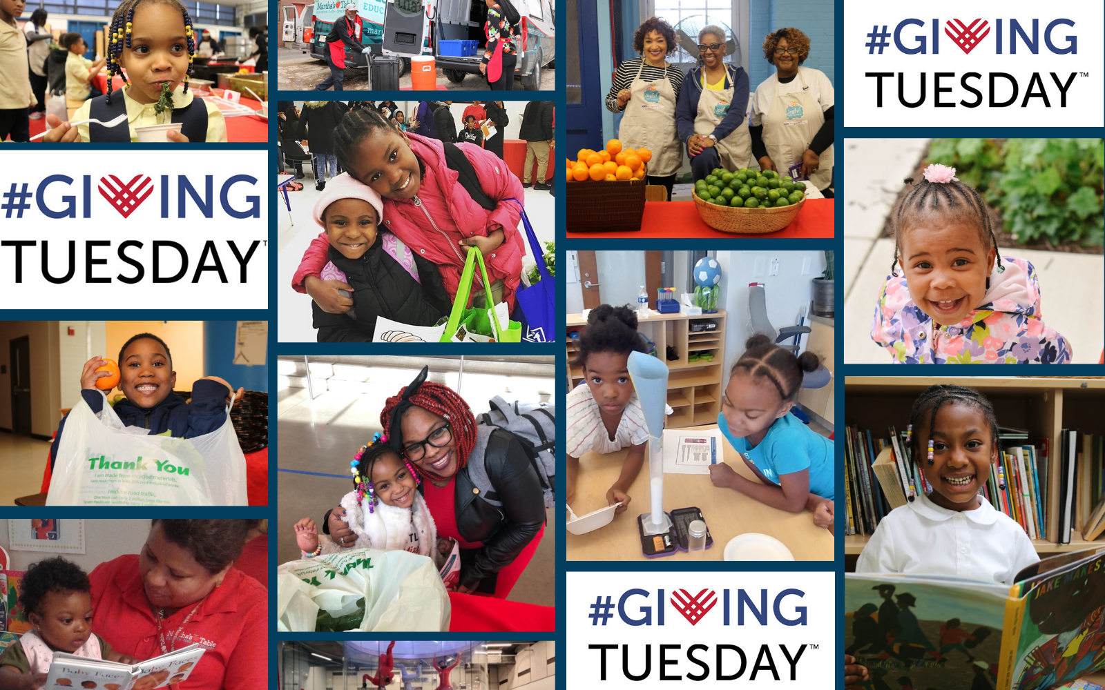 Stand with Your Neighbors, Support Martha's Table this #GivingTuesday image