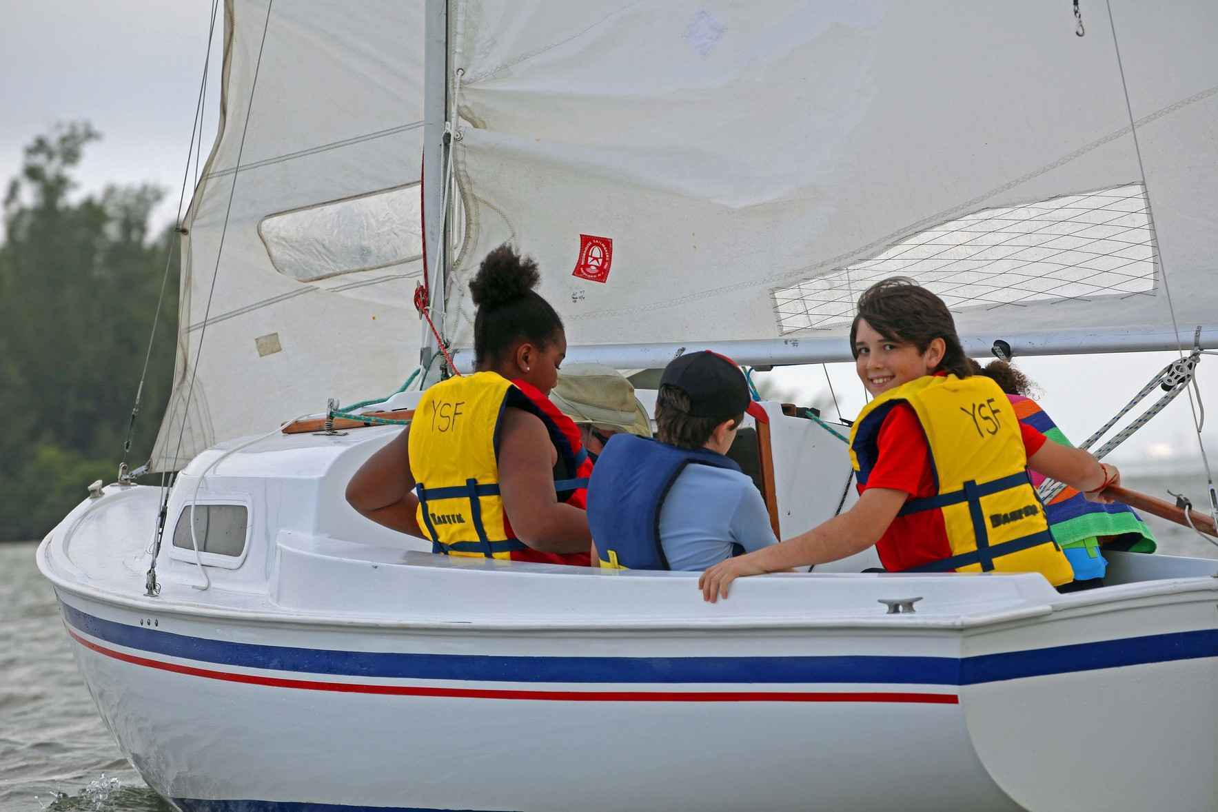 Donate now to help a child set sail on a new adventure image