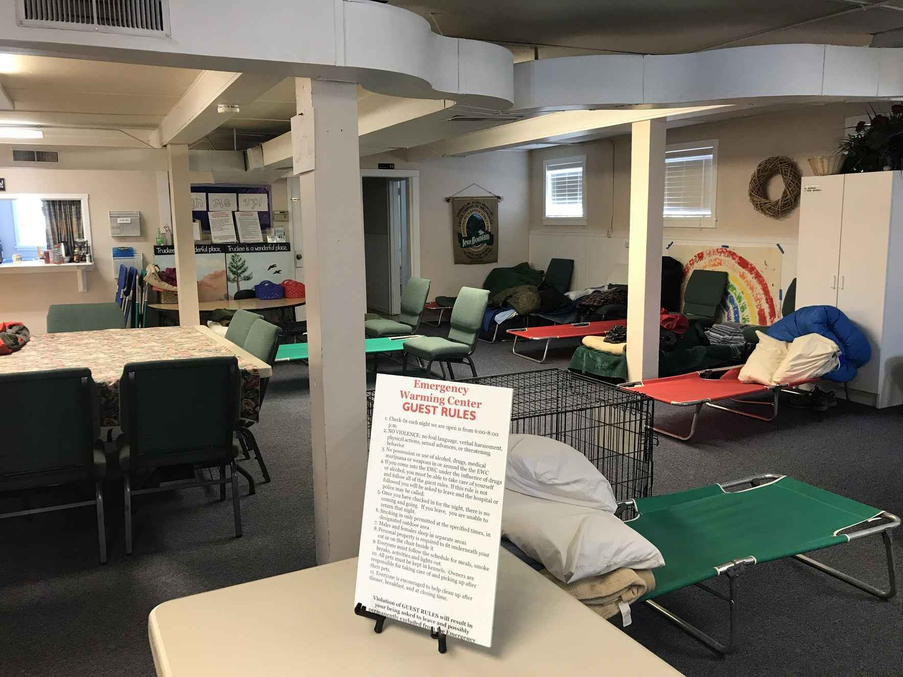 Help Give Life & Save Lives at the Truckee ~ North Tahoe Emergency Warming Center image