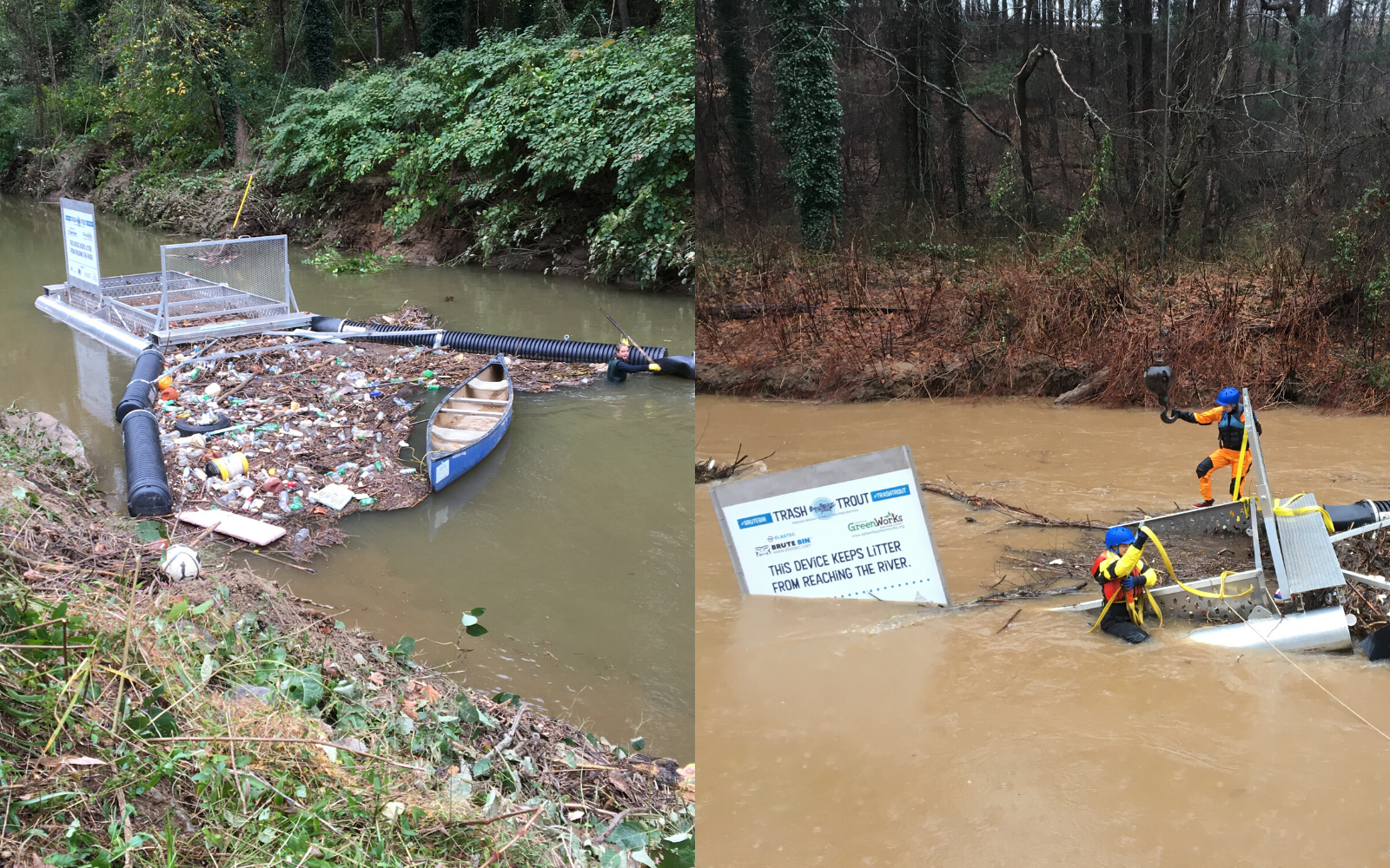 Help us #CleanAVL by fixing the Hominy Creek Trash Trout image