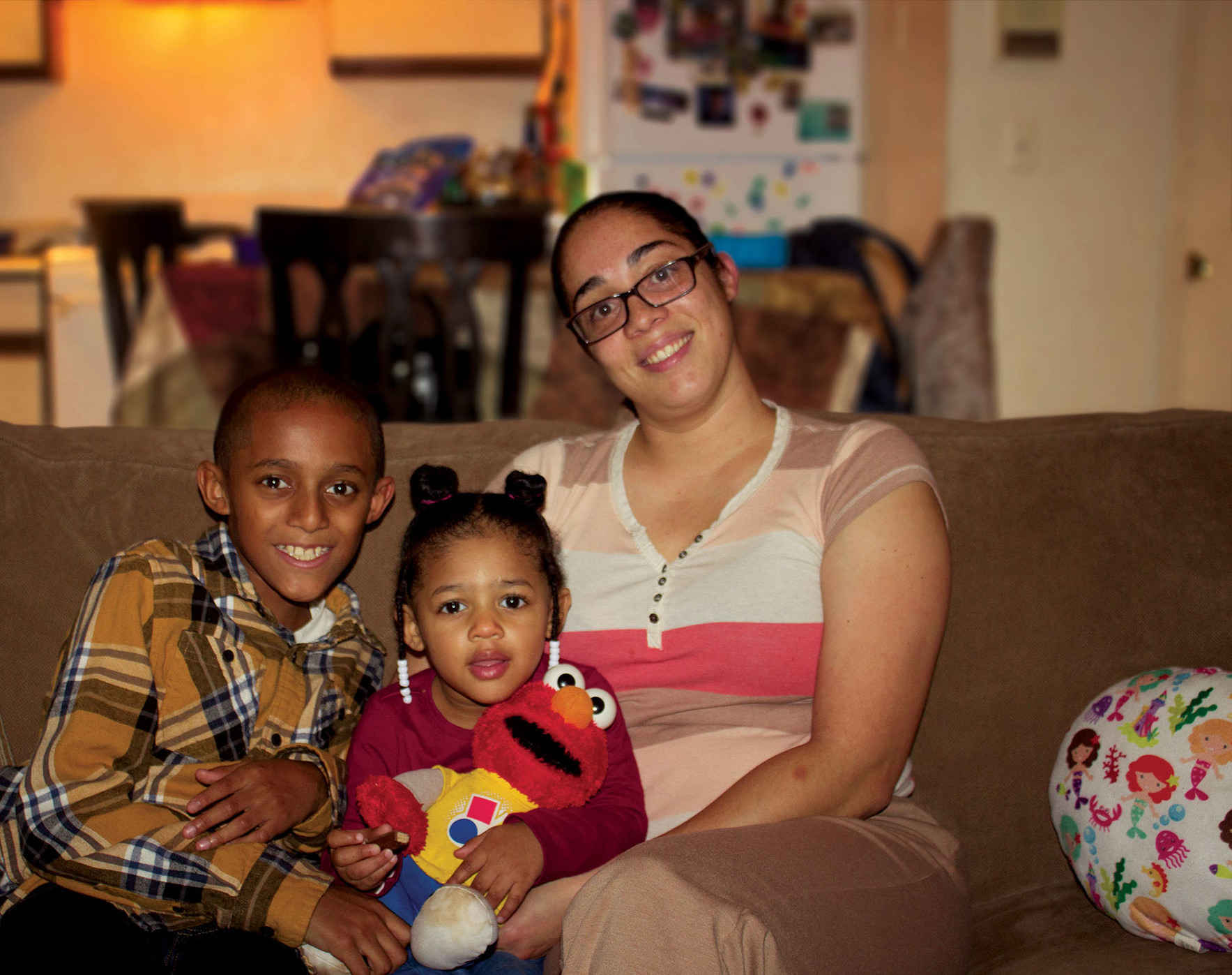 Cynthia dreams of giving her kids the safe, stable home she never had growing up. image