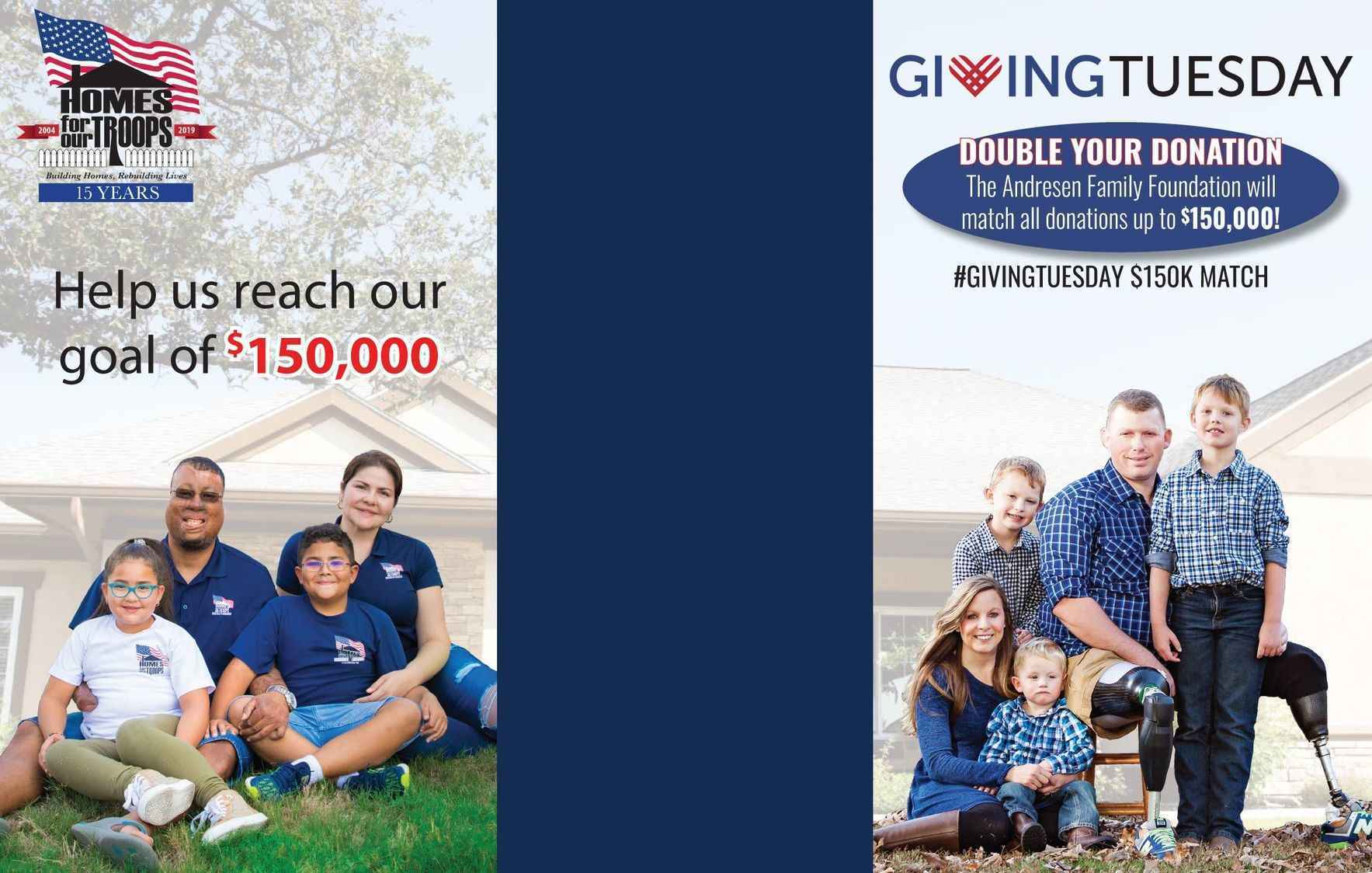 Homes For Our Troops GivingTuesday image