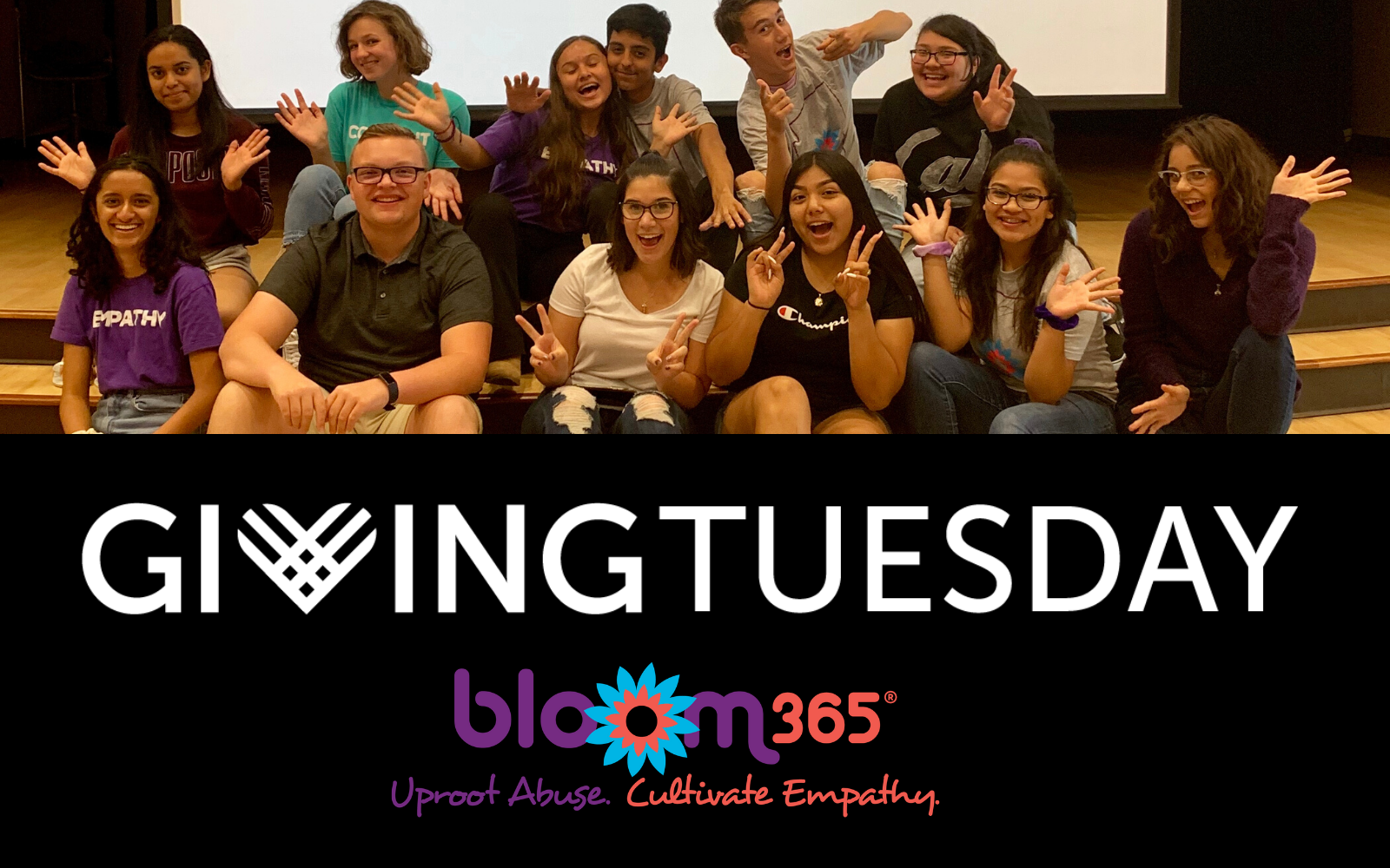 Will you help us #UprootAbuse in a generation by donating to our #GivingTuesday Campaign? image