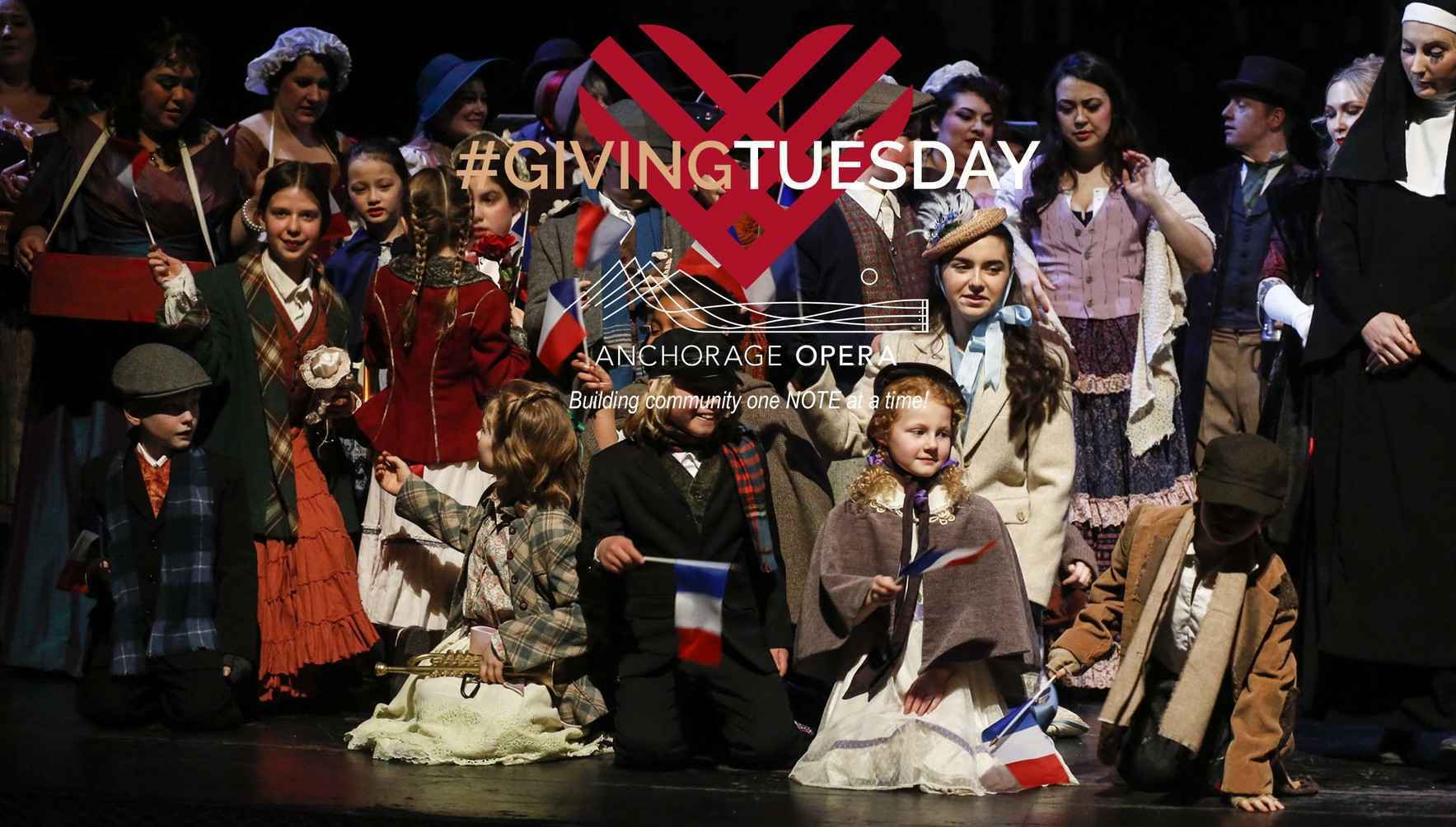 #GivingTuesday - Help Anchorage Opera 'make beautiful music' (on stage and OFF) image