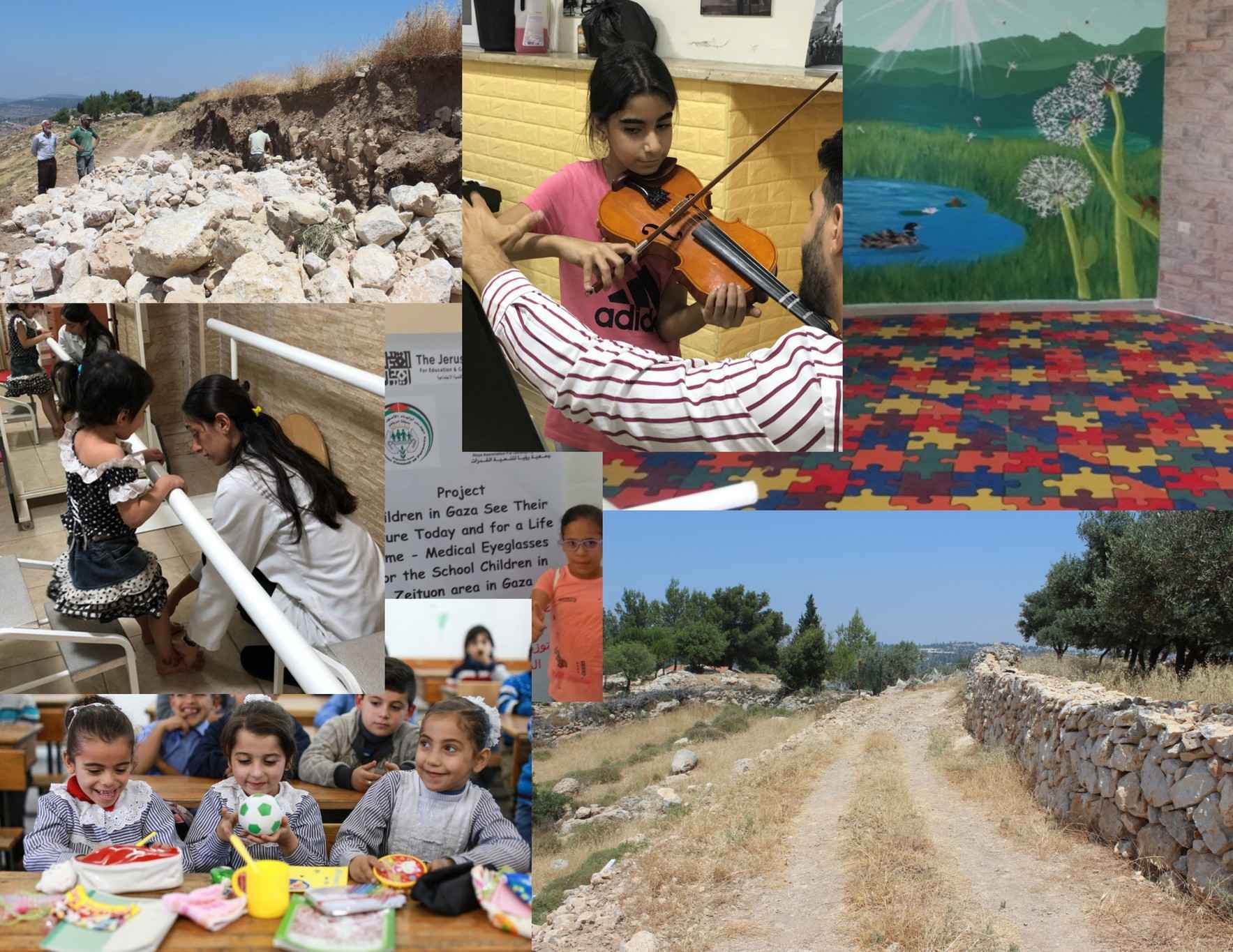 Make a gift to help Palestinian children in Gaza and the West Bank image