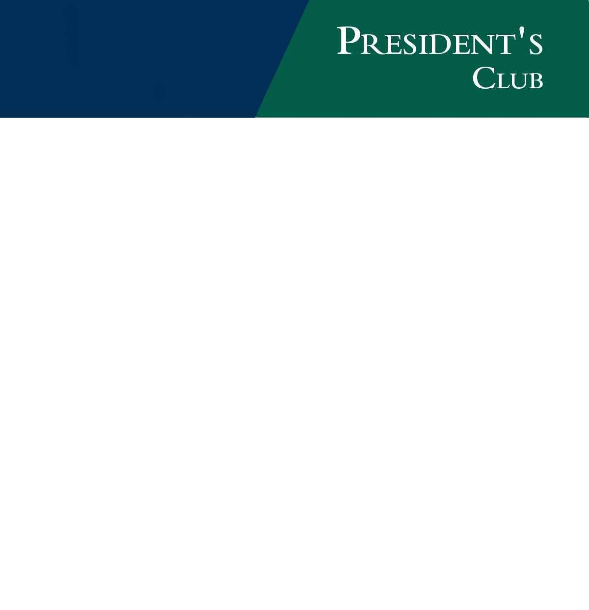 Join the President's Club image