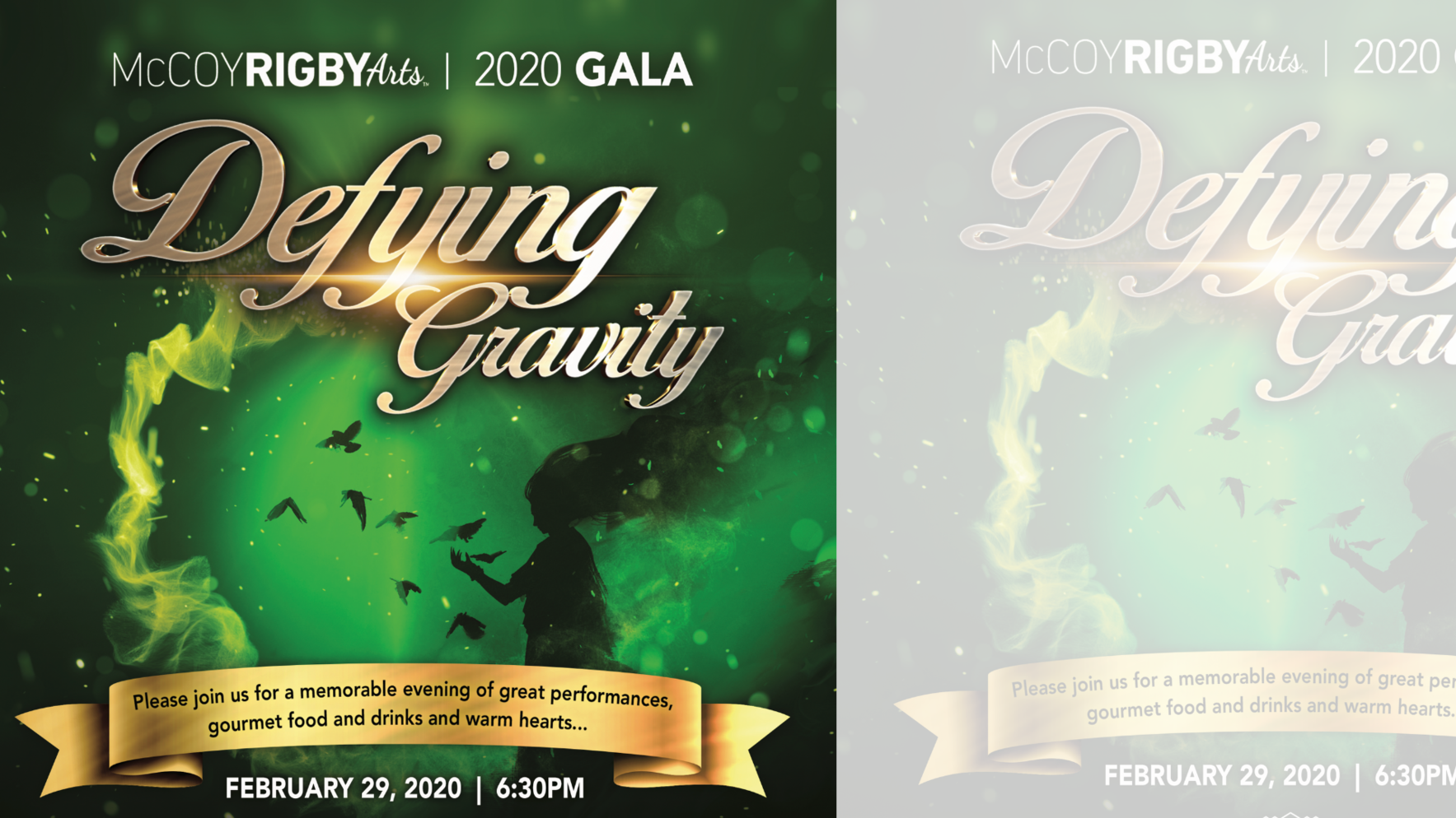 HELP US to Defy Gravity this year for gala 2020! image