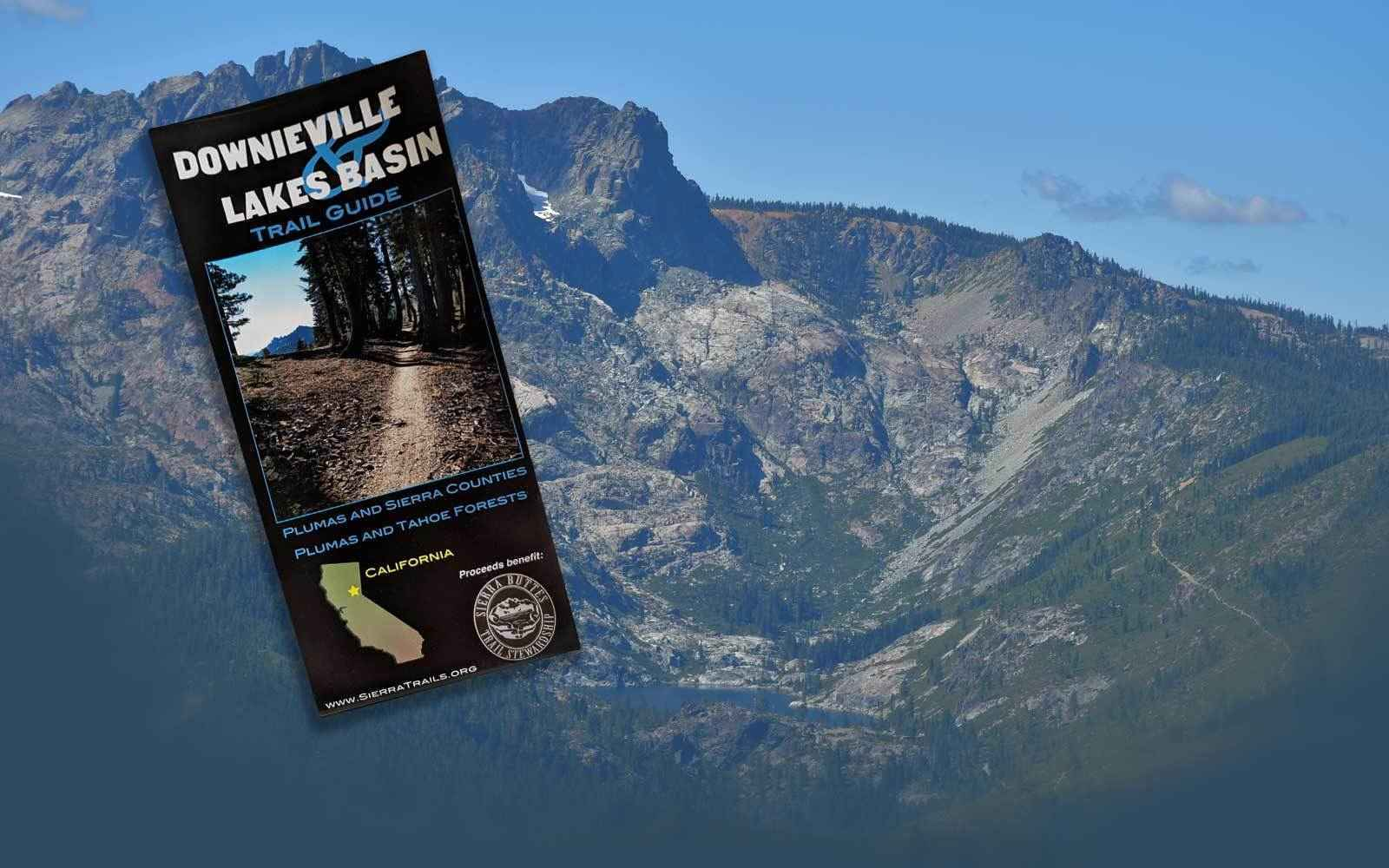 Downieville and Lakes Basin Map $17 image