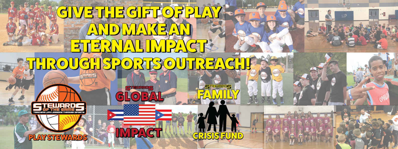 Make an IMPACT both LOCALLY and GLOBALLY through SPORTS OUTREACH! image