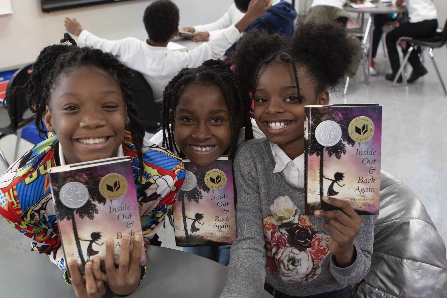 Connecting students, authors, illustrators and books image