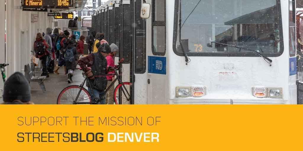 Help Streetsblog Denver publish news and commentary that makes the case for better walking, biking and transit. image