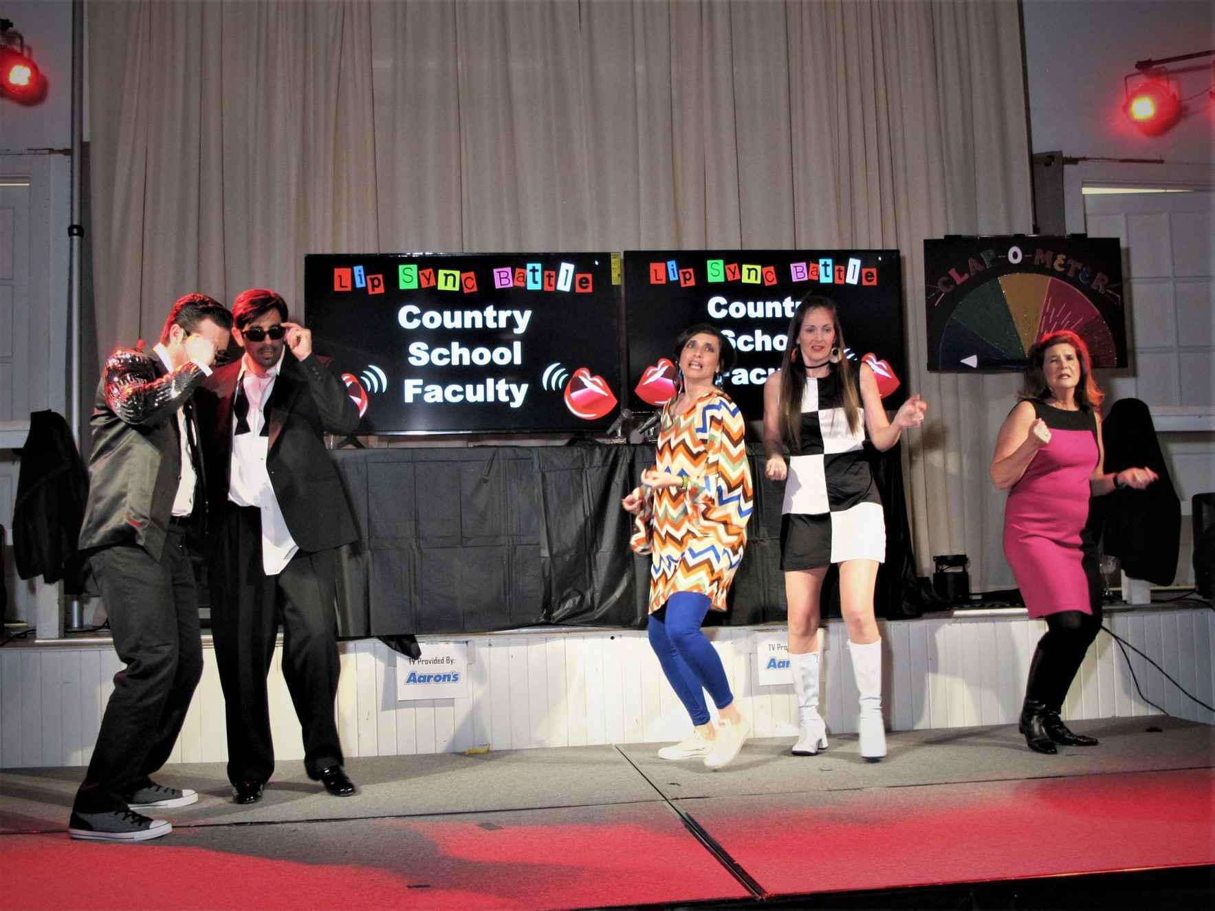 Vote for the Country School Faculty to win this year's Lip Sync Battle! image