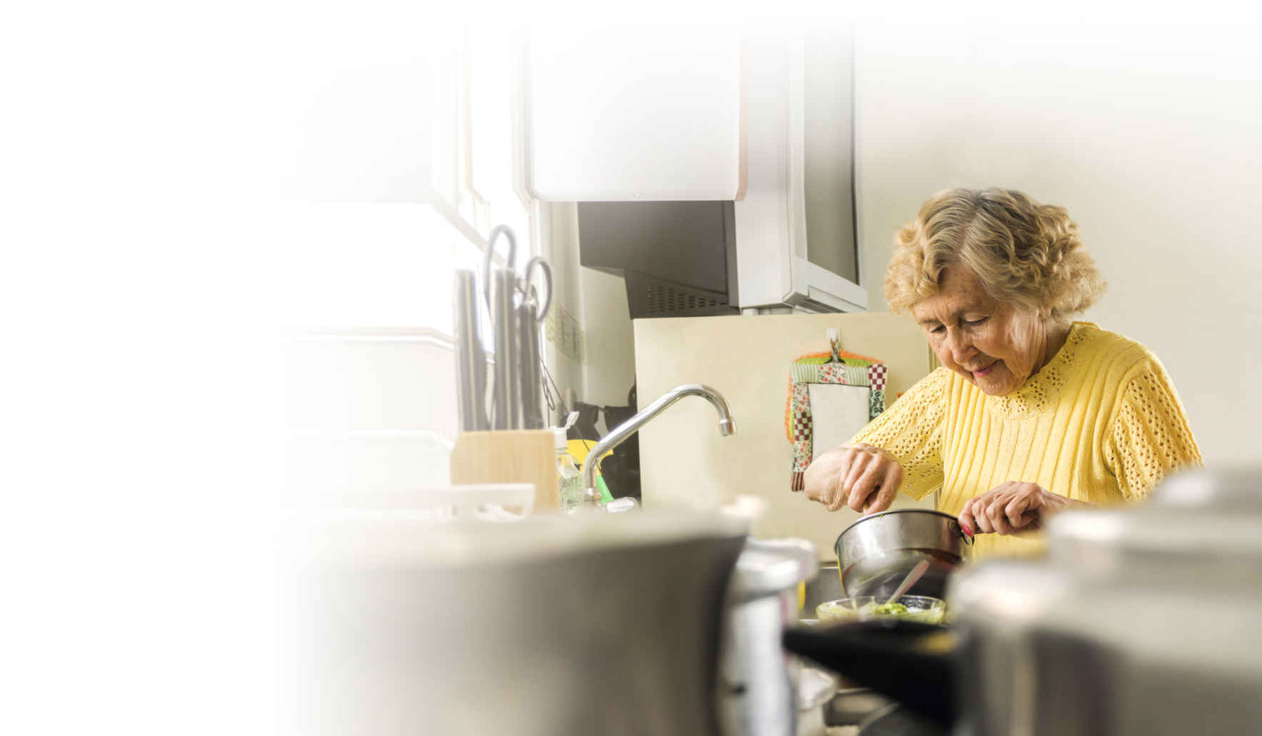 Help ensure local senior and veteran neighbors have access to healthy food. image