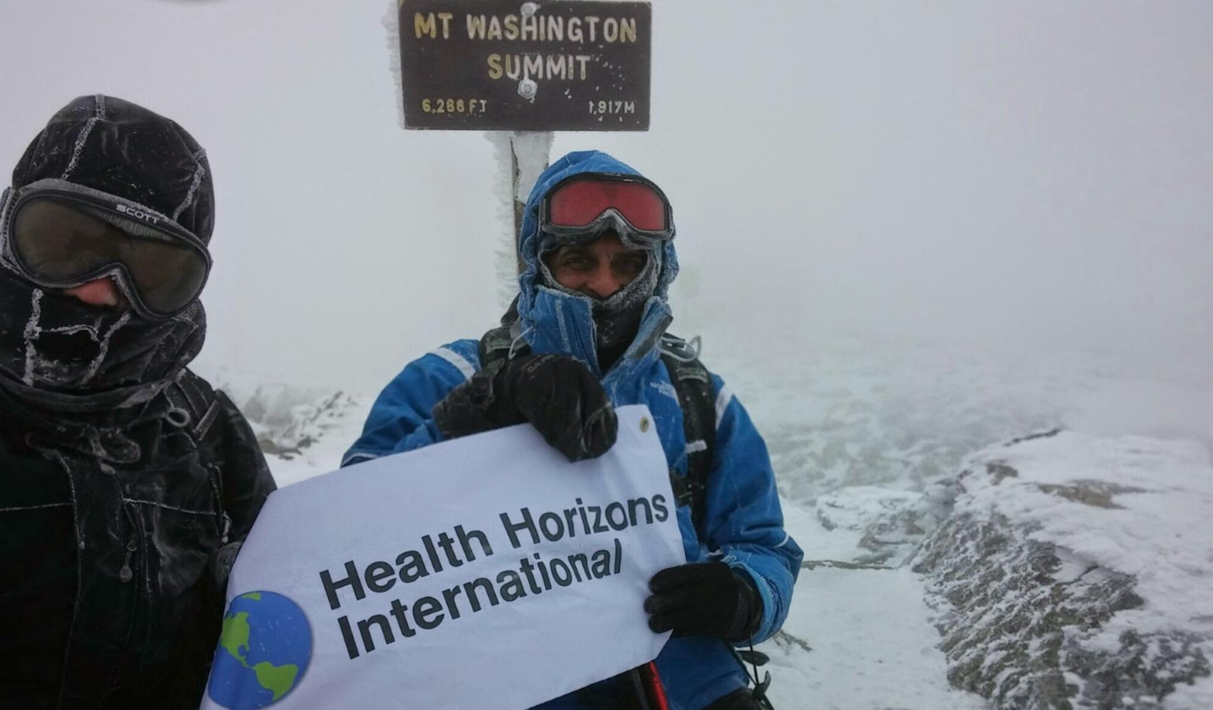 Donate now to support Ayaz's Mt. Washington Climb image