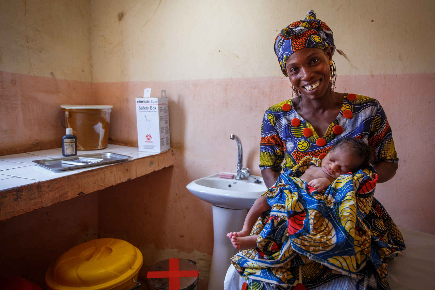 Help fund a water system for a health clinic! image