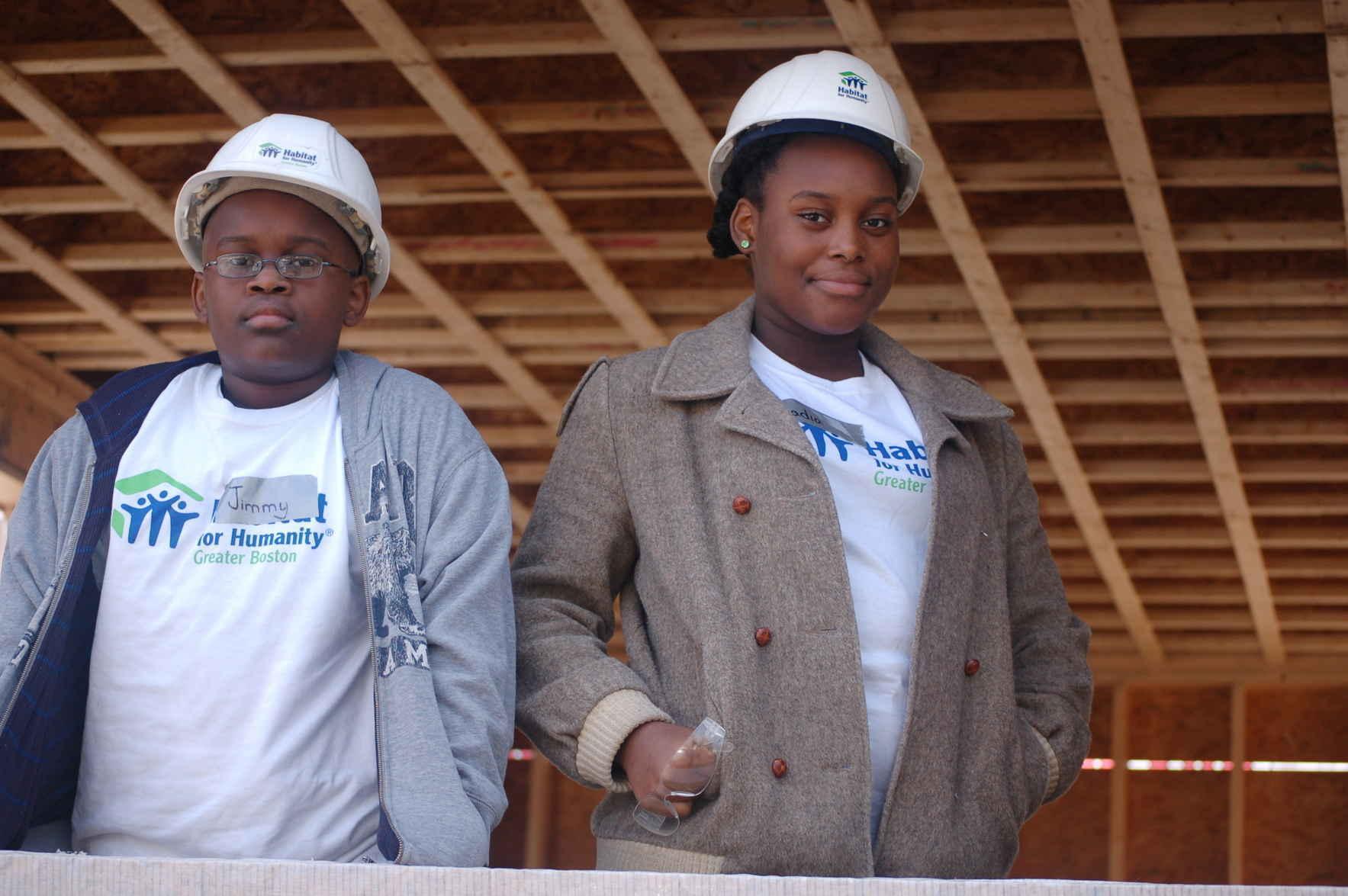 Building together, changing lives together.  image