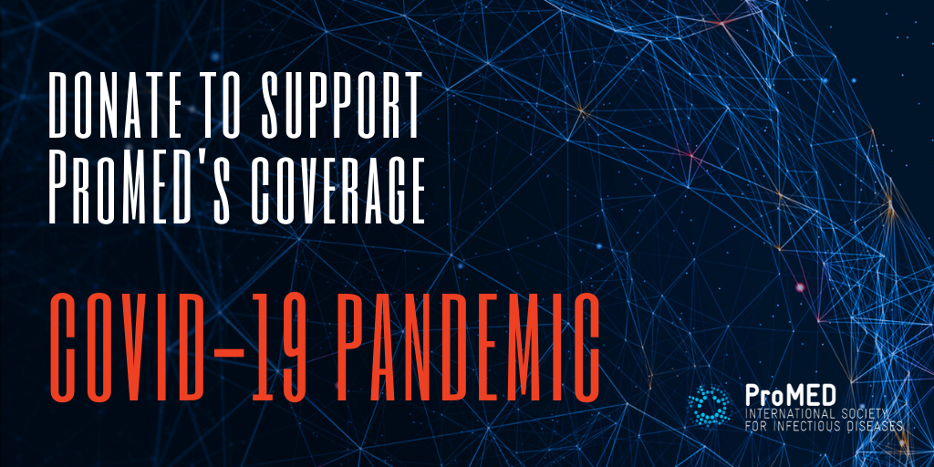 Support ProMED's Coverage of the COVID-19 Pandemic image