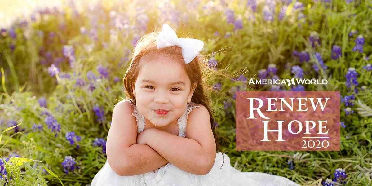 ​In the wake of current, global events America World has declared a new season called Renew Hope. image